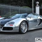 Ultra Rare Bugatti Veyron Pur Sang And Mercedes CLK GTR Up For Sale