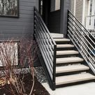 Custom wrought iron staircase for your home & business | Signature Metal Works