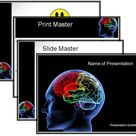 Download Editable Human Brain PowerPoint Template for presentation !