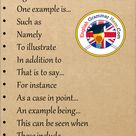 19 Saying For Example Phrases in English