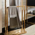 Handtuchhalter, gold, Material Edelstahl »Passau«, Guido Maria Kretschmer Home&Living