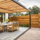 29 fabelhafte Ideen für Terrassenüberdachung aus Holz im Garten