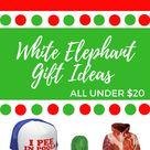 The Most Hilarious White Elephant Gift Ideas