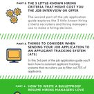 Job Application Guide – How to Write a Bulletproof Resume