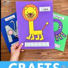 Alphabet Crafts - Uppercase and Lowercase Letter Alphabet Crafts