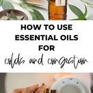 The best essential oils for colds and congestion - feel better fast!