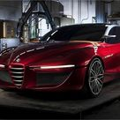 Alfa Romeo Gloria concept by IED, 2013