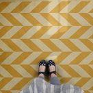 Spicher & Company Vintage Vinyl Floorcloth (Classic Pattern 6 Apollo)