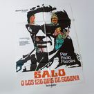 vintage 1976 Salò, 120 Days of Sodom by Pier Paolo Pasolini, set of two original Spanish cult film movie posters, 70 x 100 cm