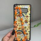 Samsung Galaxy iPhone mushroom rainbow phone case