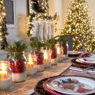 21 Festive DIY Christmas Table Decorations
