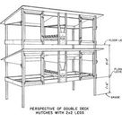 50 Free DIY Rabbit Hutch Plans & Ideas to Get You Started Keeping Rabbits