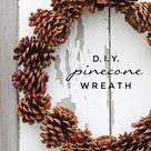 DIY Pinecone Wreath - The Inspiration Board