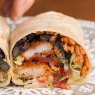 Fish Fingers Burrito