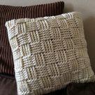 Crochet Pillow Cases
