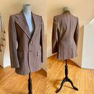 Dandy Vintage 70s Striped Sport Jacket Blazer Vintage Menswear | Etsy