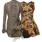 Floral Dress Outfits