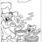 Disegni Facili Tom e Jerry 22