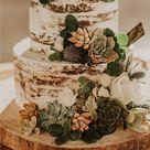 Rustic Wedding Cake --Shinecoco.com