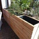 Hochbeet als Windschutz oder Sichtschutz für Terasse und Garten, selber machen bauen
