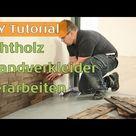 Planeo WoodWall antik Echtholz Mauerverblender, Wandverkleidung