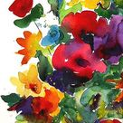 Watercolor Art Paintings