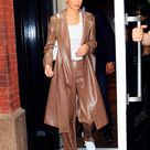 Kendall Jenner puts on showstopping display in trench coat