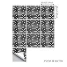 Moderna - Mosaic Adhesive Tile Stickers - Large - 8\ / 30 Pieces