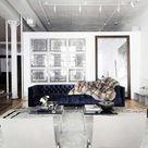 Velvet Tufted Sofa