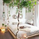 Green canopy bed design - Home Decorating Trends - Homedit