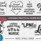 LPN svg, licensed practical nurse svg, Nursing svg, nurse appreciation svg, subway art svg, lpn bund