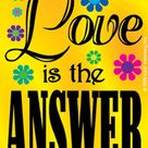 LOVE Is THE ANSWER Sticker Decal