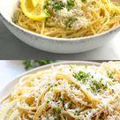 Lemon Garlic Parmesan Pasta (EASY)