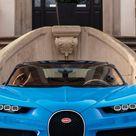 Wallpaper Bugatti Chiron, Geneva Auto Show 2017, hypercar, blue, Cars & Bikes 9093