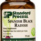 Spanish Black Radish, 80 Tablets