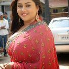 Namitha Kapoor in Pink Saree Dress