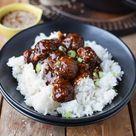 Sesam Teriyaki Fleischbaellchen - Sesame Teriyaki Meatballs