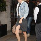 Gigi Hadid Wore the Shiniest Pants in Milan
