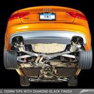 AWE Tuning Audi B8.5 S5 3.0T Touring Edition Exhaust System   Polished Silver Tips 102mm
