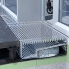 Kastenrinnen für Terrassen und Balkone mit seitlicher Auskragung