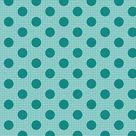 TILDA Medium Dots Dark Teal - Basics - Tilda Fabrics - Tone Finnanger - 100% Cotton