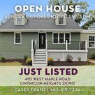 Just Listed! 410 West Maple Road   Linthicum Heights MD
