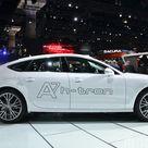 Audi Unveils A7 Sportback H Tron Quattro Hydrogen Car at the Los Angeles Auto Show