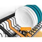 2 Tier 95cm Stainless Steel Kitchen Shelf Organizer Dish Drying Rack Over Sink