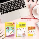 Tamil Language Learning Books   Vowels, Consonants and Picture Book