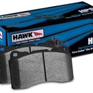 Hawk Sector 27 Rear Rotors and HPS 5.0 Pads Kit BMW 525 Series 2004