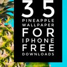 Pineapple Wallpaper for iPhone