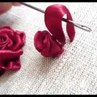Hand Embroidery stitches tutorial for beginners step by step, how to sew hand embroidery