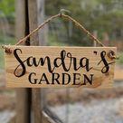 48 Garden sign | Etsy