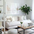 51 apartment decorator tricks for small living rooms and more 17   Idee deco petit salon, Deco petit salon, Décoration salon appartement
